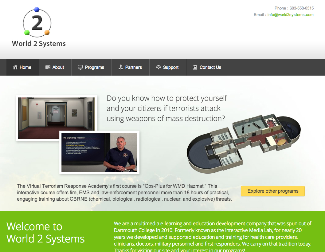 World2Systems Web Site