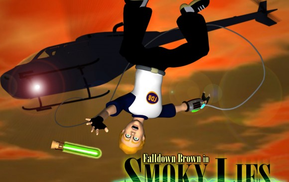 Video and Animation - Fall Down Brown in Smokey Lies