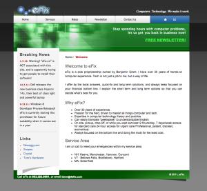 4 Efix Website